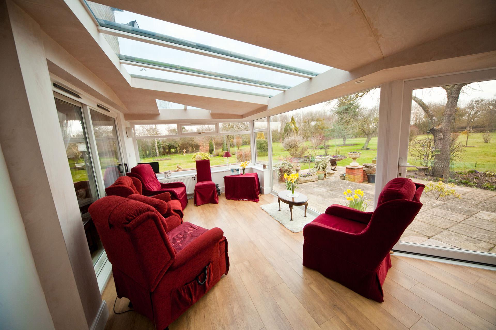 double glazed upvc conservatory hockley essex