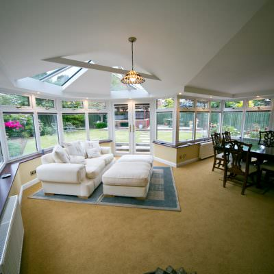 double glazed upvc conservatory cost hockley essex