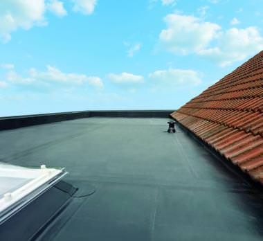 rubber flat roofing prices hockley essex