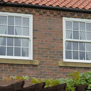 double glazed upvc sliding sash windows hockley essex