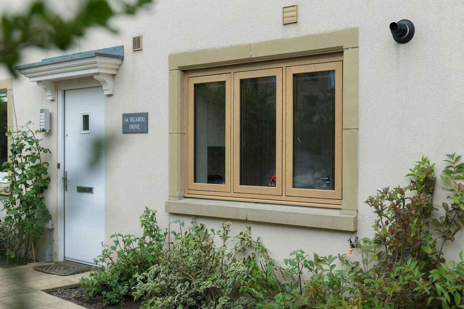 wood frame windows hockley essex