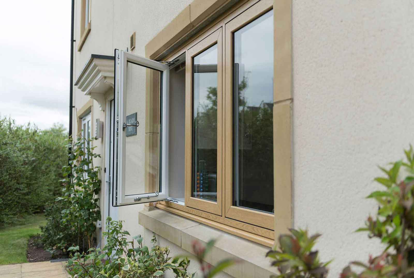 hockley essex wood effect double glazing
