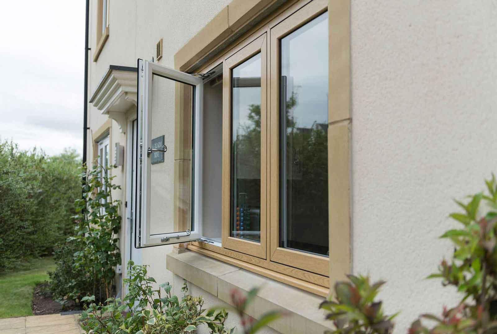 hockley essex wood effect double glazing