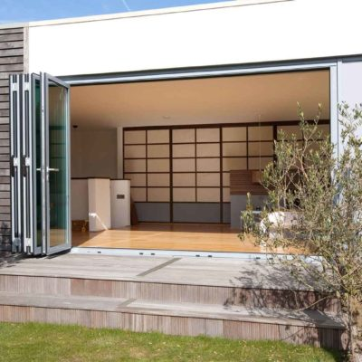 bi-fold doors rayleigh