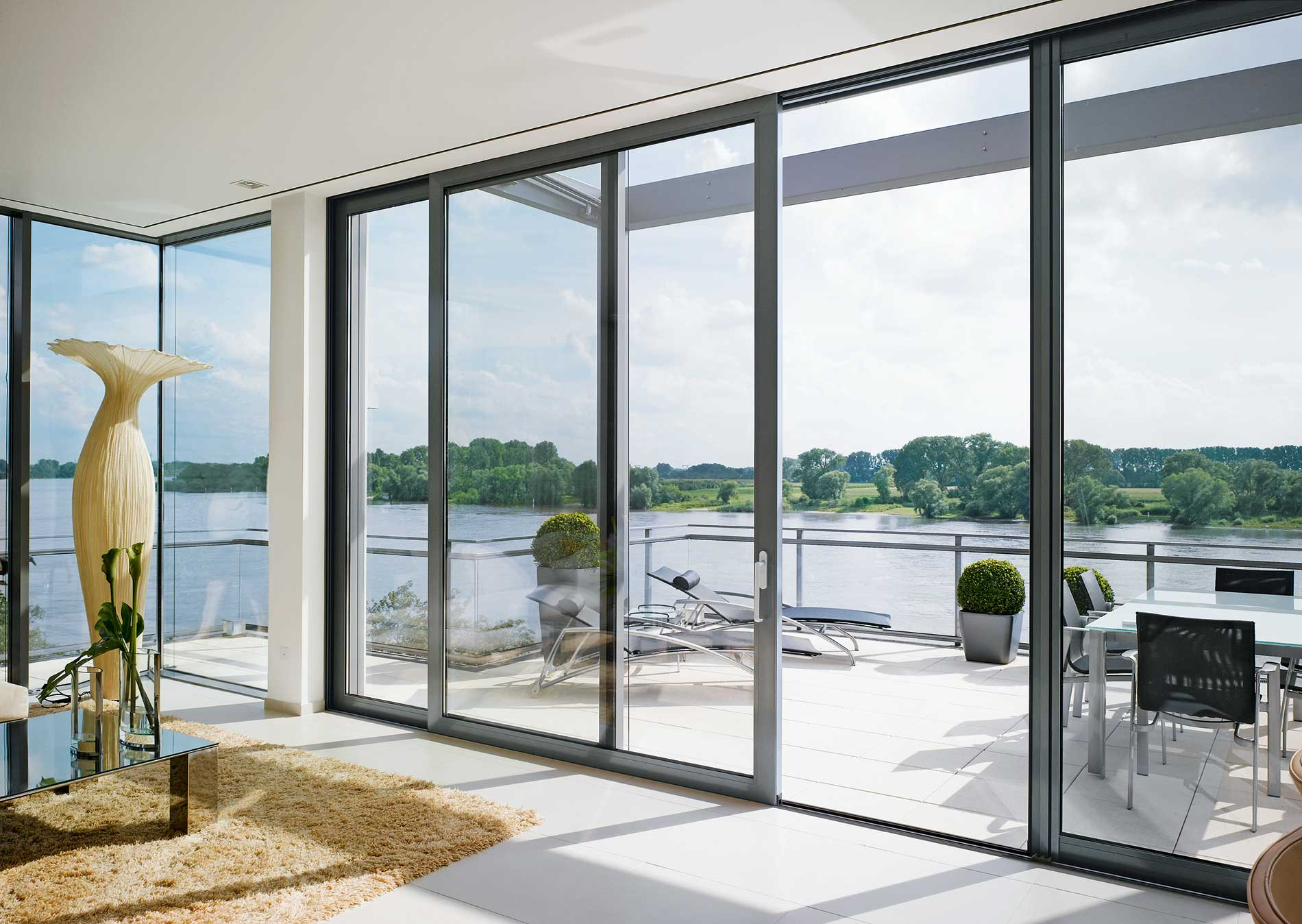 aluminium patio doors cost hockley essex
