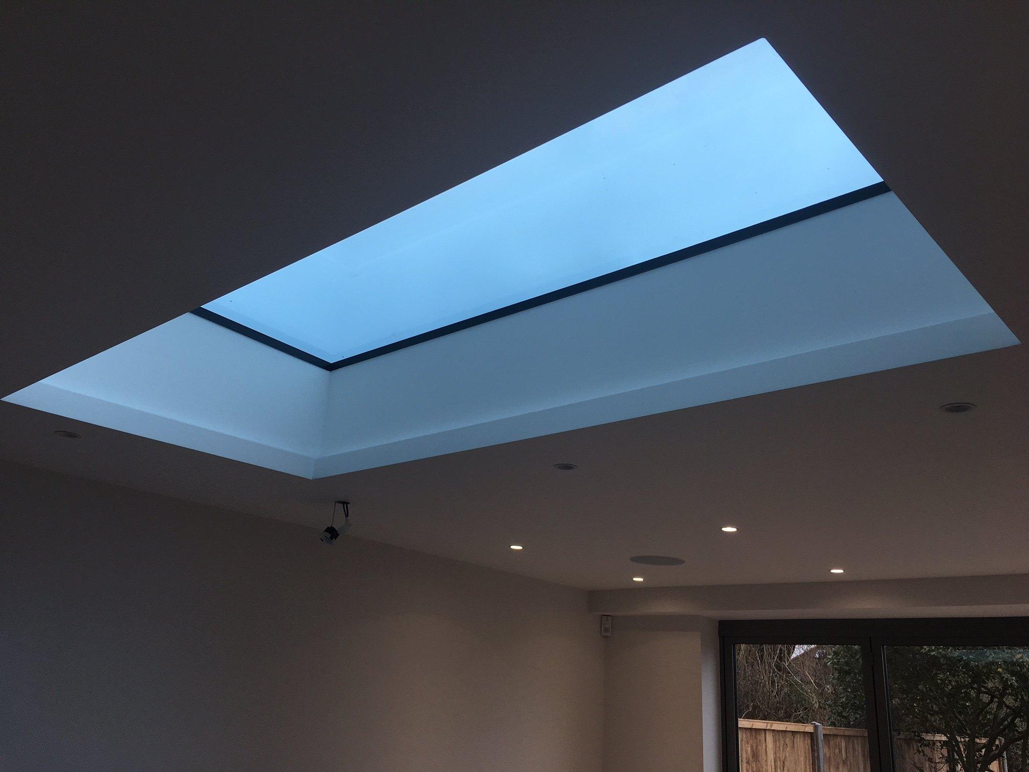 flat glass rooflight leigh on sea